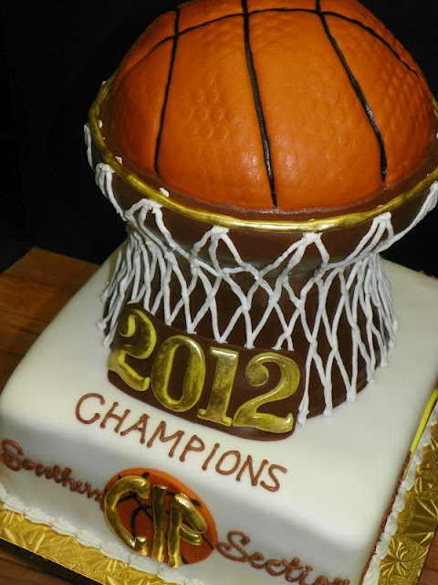 Plumeria Cake Studio: LHHS Girls' Basketball Cake