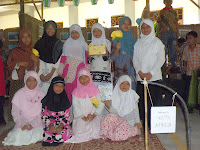 outing class, sdii al-abidin, english outing class, practice english