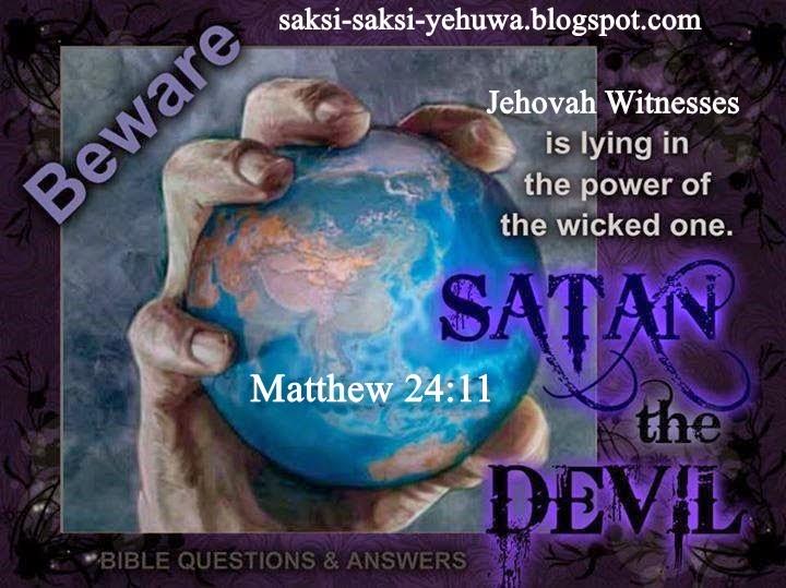 Saksi yehuwa menyangkal Kristus