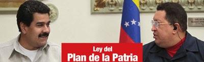 Descarga la Ley del Plan de la Patria