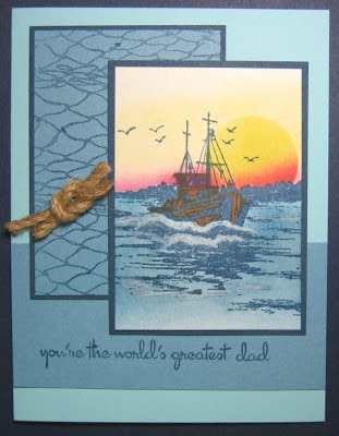 Our Daily Bread Designs, The Waves on the Sea, Fishing Net Background