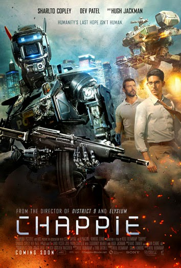 Chappie (2015) ταινιες online seires xrysoi greek subs