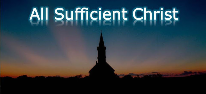 All Sufficient Christ