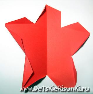 Детские Рисунки поделка звезда из бумаги
