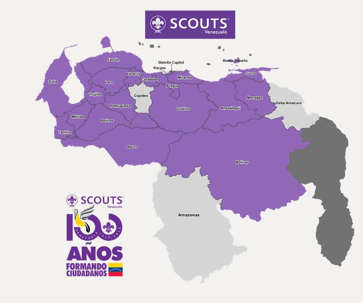 SCOUTS EN EL MAPA
