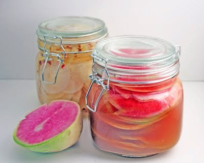 Pickled Radishes Two Ways (Daikon and Watermelon Radish) - Florida ...