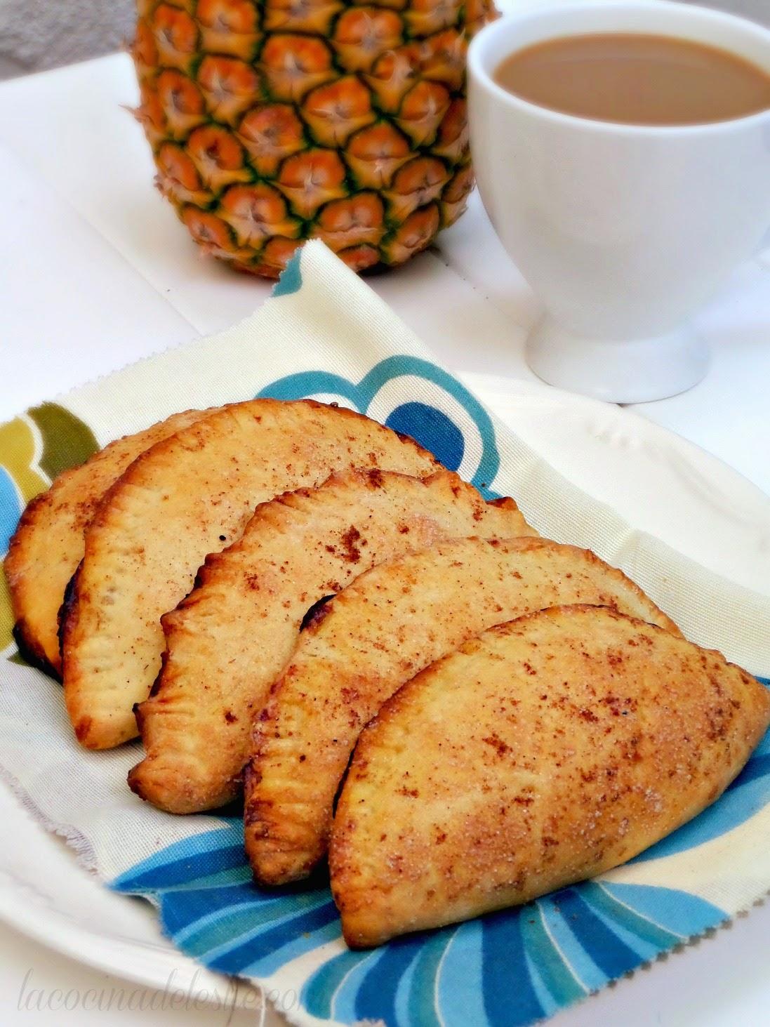 Homemade Pineapple Empanadas - lacocinadeleslie.com