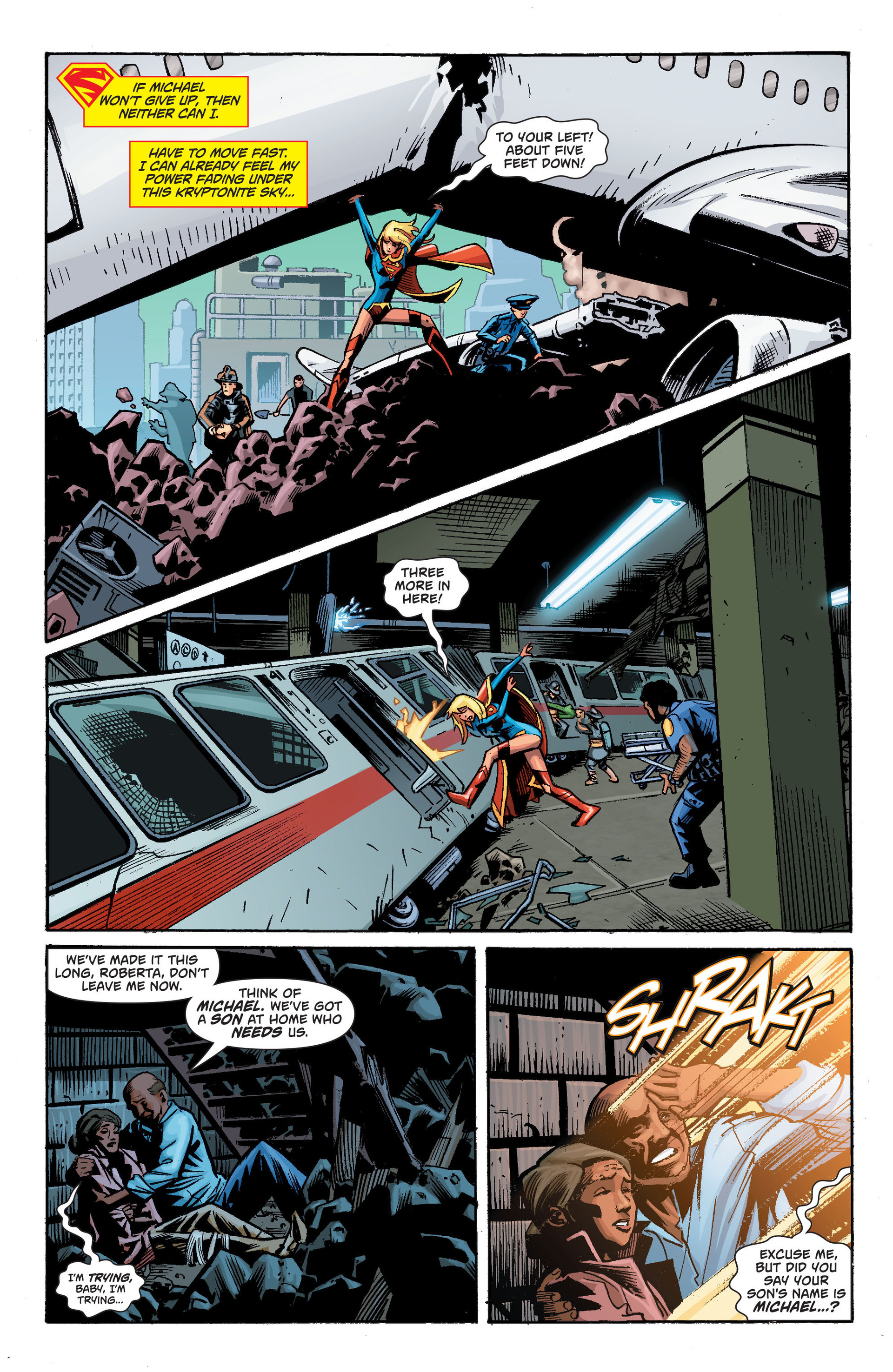 Supergirl (2011) Issue #34 #36 - English 16