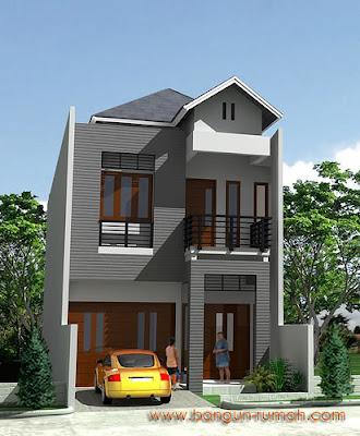 gambar rumah lantai 2 on Gambar desain Rumah Tinggal minimalis | Fajri.net