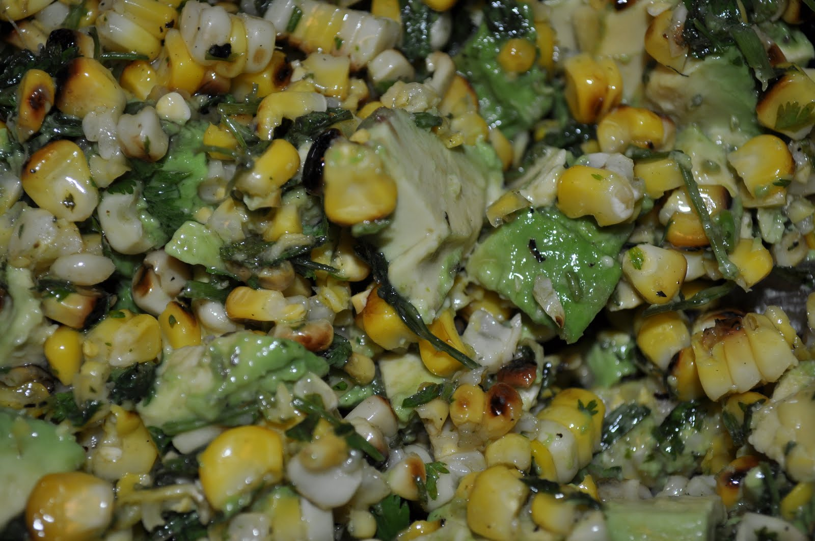 Corn, Avocado, and Cilantro Salad | More is Better