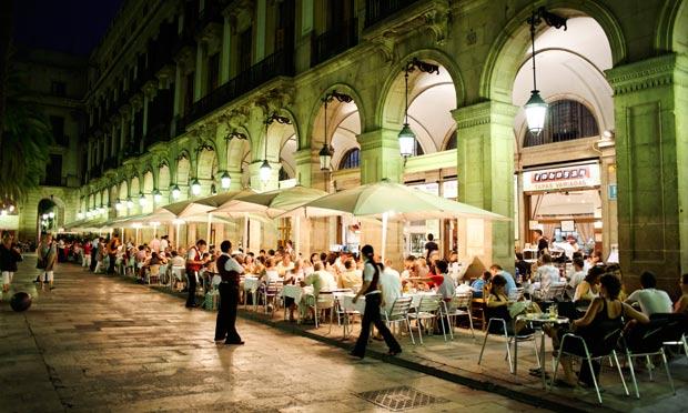 Plaça Reial Bares Barcelona