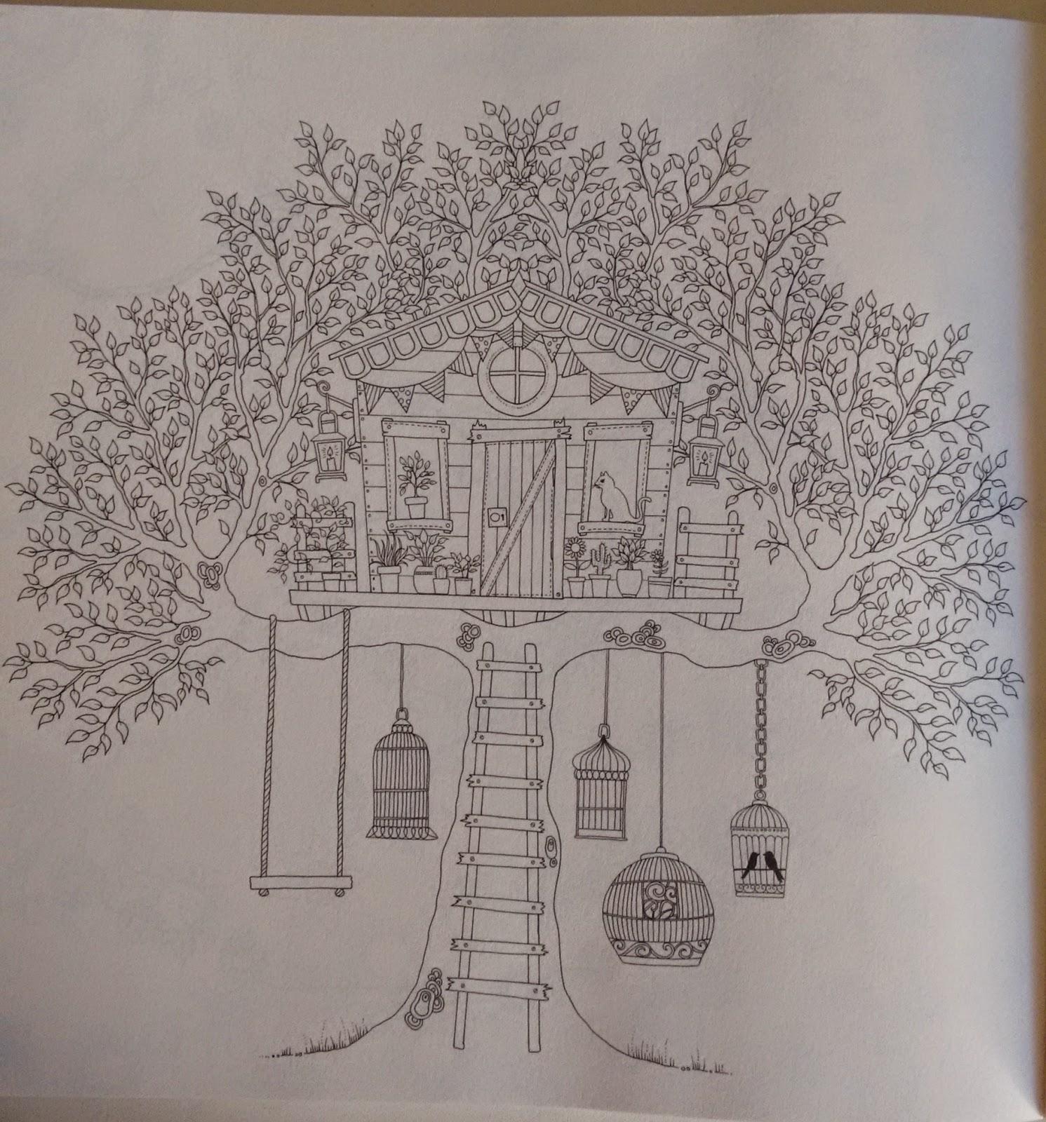 flor azul jardim secreto:Hoje só tem imagens de Jardim Secreto, da Johanna Basford.