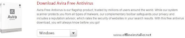 Avira Free Antivirus 2015+ Offline