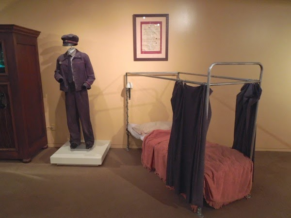 Knight Bus conductor costume bed prop Harry Potter