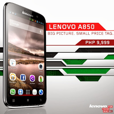 Lenovo A850 Price in Philippines