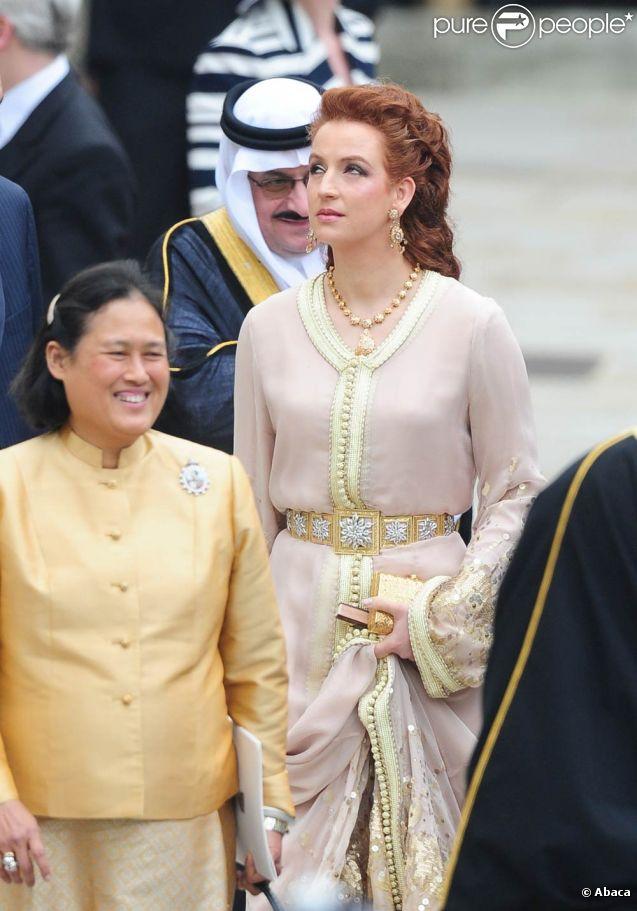 Lalla Salma prend part à la cérémonie de mariage du Prince William