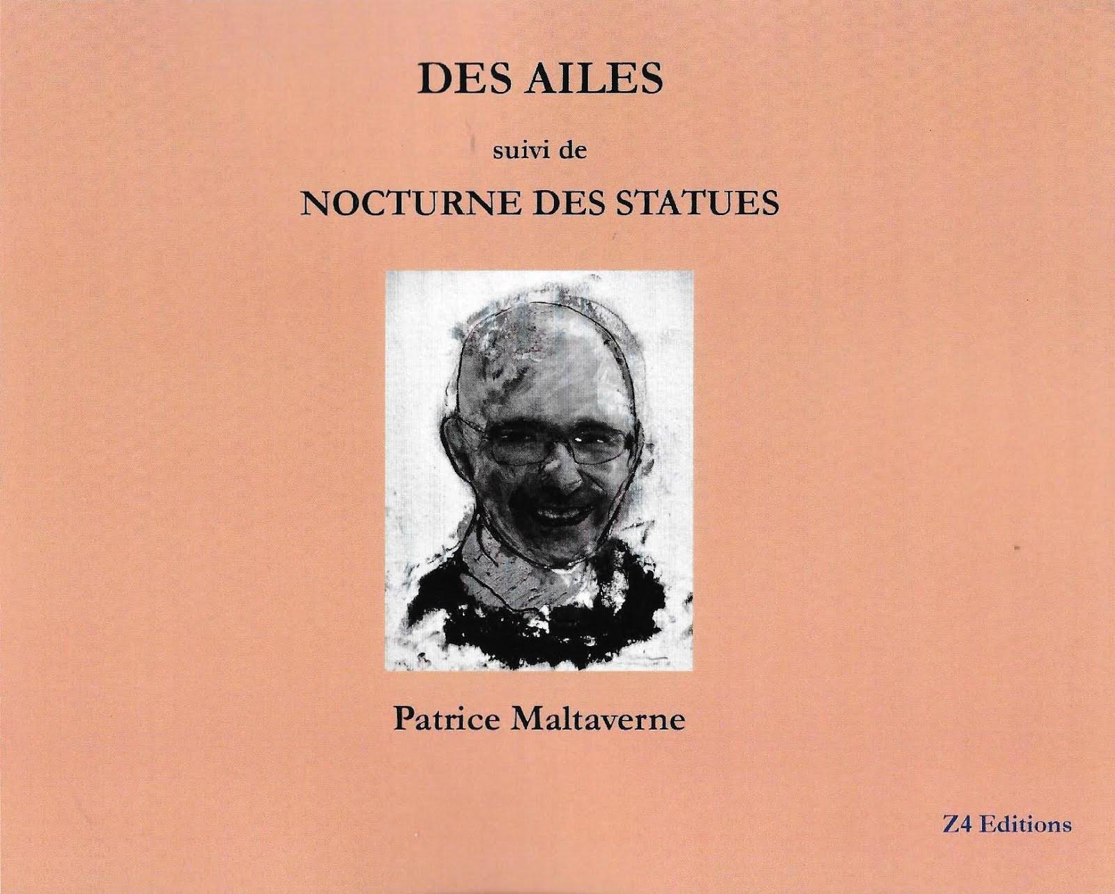 """Les recueils de Malta disponibles : """"Des ailes"""", publié par Z4 Éditions"""