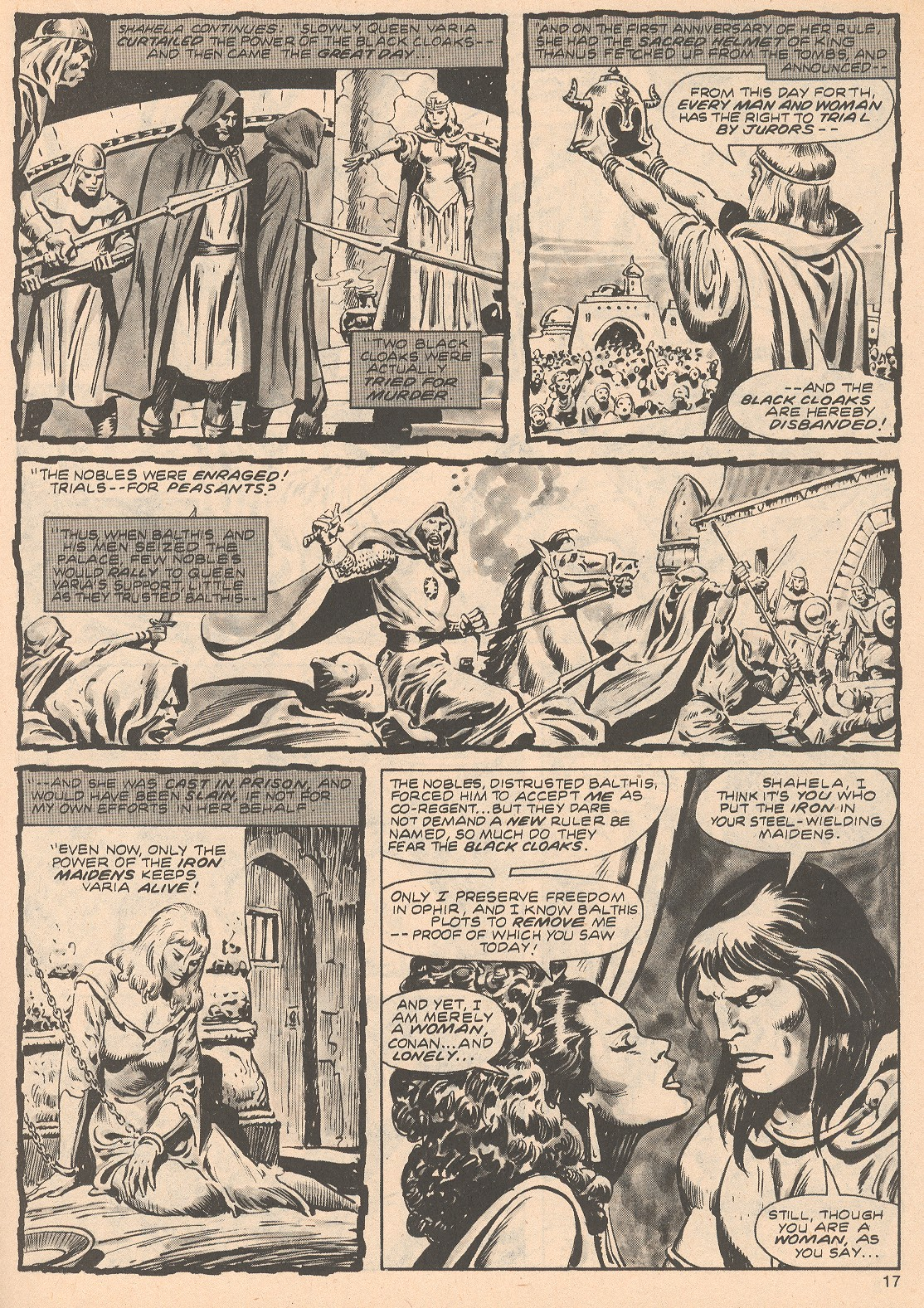 The Savage Sword Of Conan Issue #68 #69 - English 17
