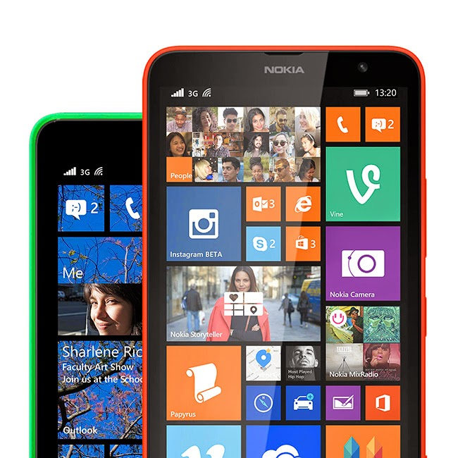 Nokia Lumia Cyan Windows Phone 8.1 Update