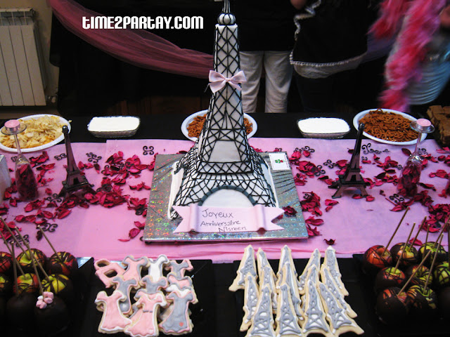 Paris themed party time partay
