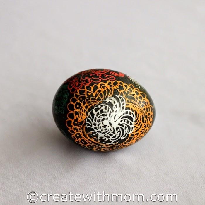 Create With Mom: Ukrainian Method of Decorating Eggs or ...