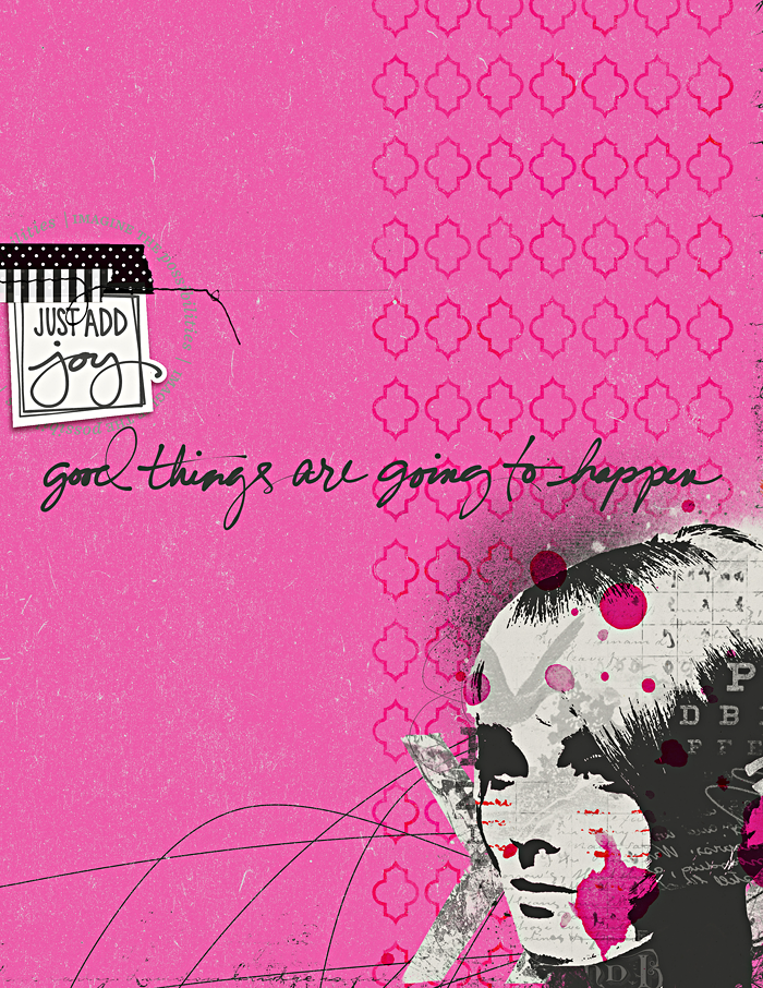 Just Add Joy Art Journal | BYOC at The Lilypad | One Little Word® JOY