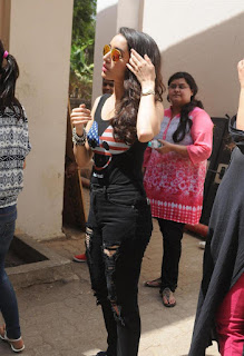 Actress Shraddha Kapoor Pictures in Jeans at ABCD 2 Promotions   (7).JPG