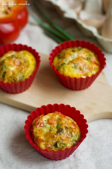 Muffinki jajeczne przepis
