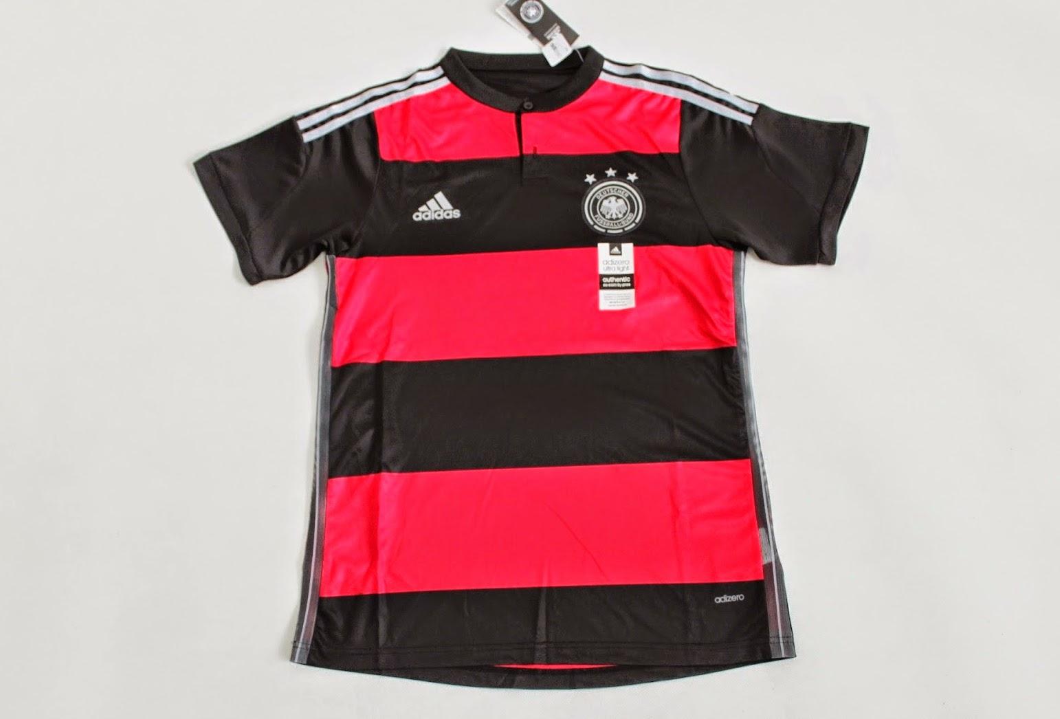 Baju dan Kaos Couple - Grosir dan Eceran Baju Pasangan Sepak Bola Piala Dunia Germany Away