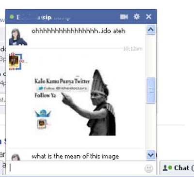 insert Image in Facebook Chat