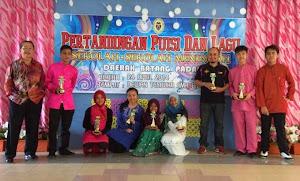 Juara Puisi dan Lagu SM Daerah Batang Padang 2014