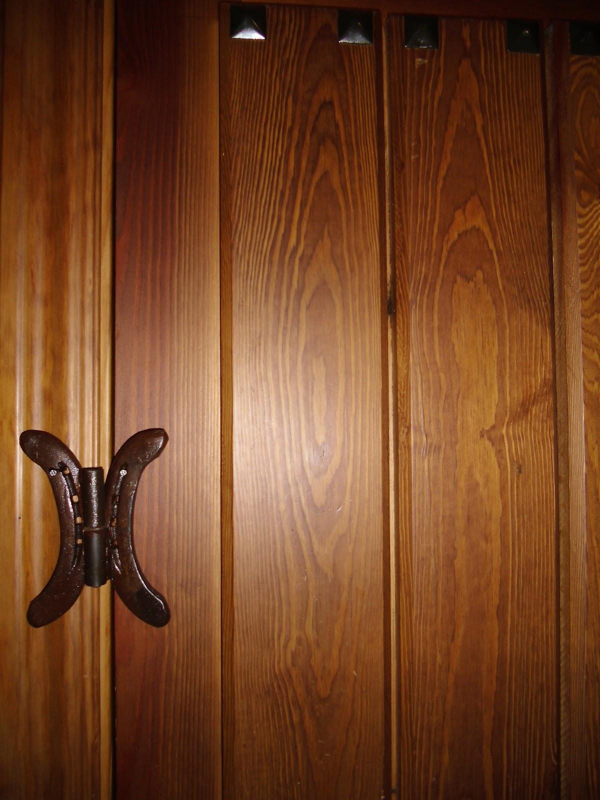 Adornos rusticos con herraduras pernios - Puertas usadas de madera ...