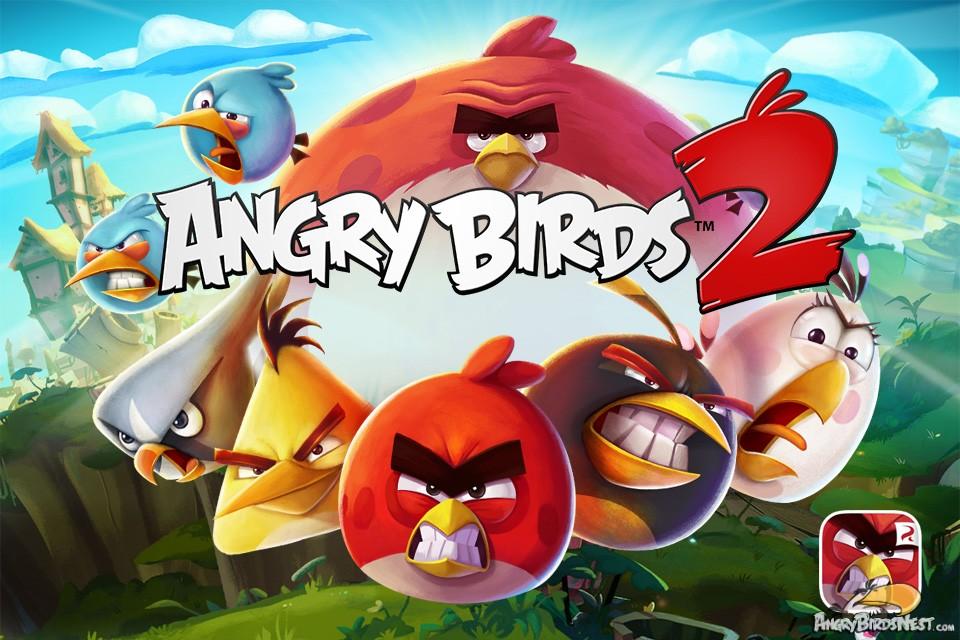 یاری بۆ ئهندرۆید Angry Birds 2 v2.1 APK+Data+Mod Shopping