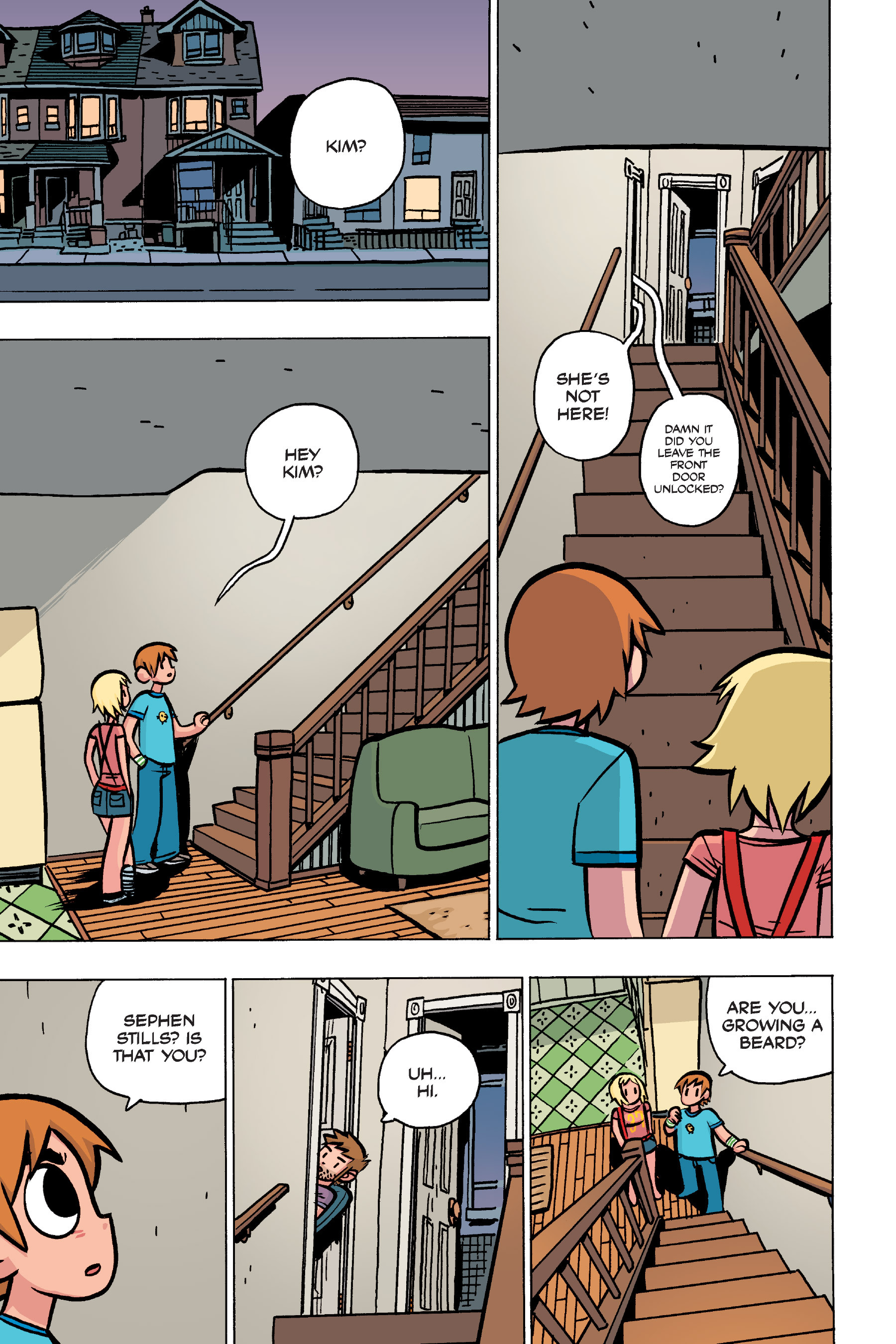 Read online Scott Pilgrim comic -  Issue #4 - 47