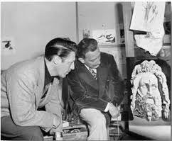 Salvador Dalí na Disney com quadro para Destino