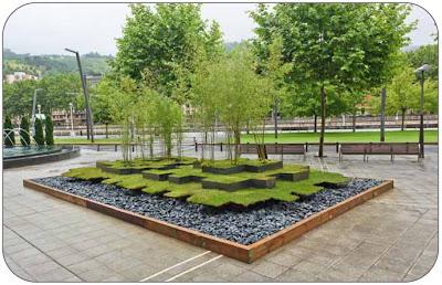 jardines en Bilbao