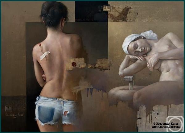 Painter Konstantin Kacev