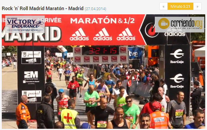 foto video llegada maraton de madrid 2014