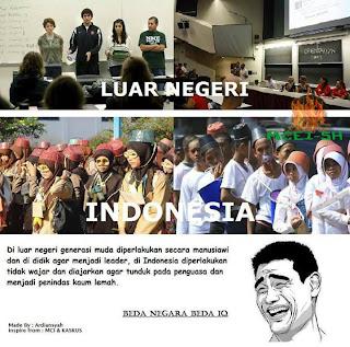 Perbedaan OSPEK ( MOS ) Indo Dengan Luar negeri Beda IQ , Beda Negrara!