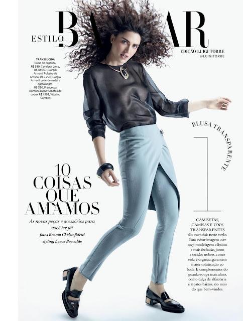 Fashion Model @ Nathalia Novaes - Glamour Estilo Brasil, August 2015