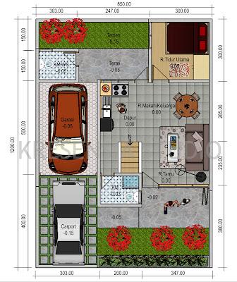 denah desain rumah minimalis sederhana denah desain rumah minimalis ...