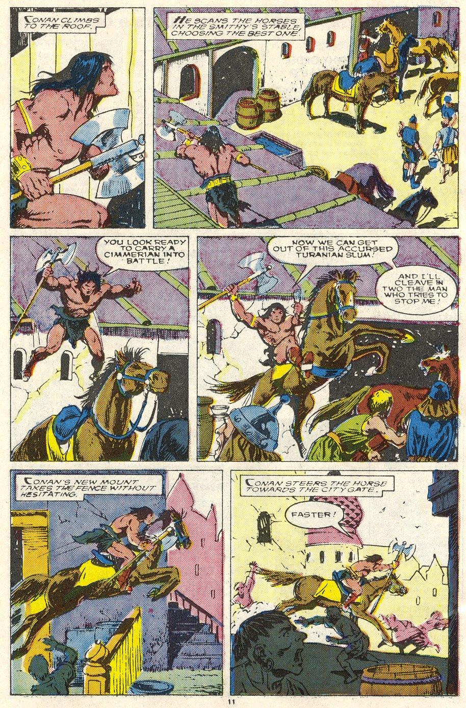 Conan the Barbarian (1970) Issue #219 #231 - English 9
