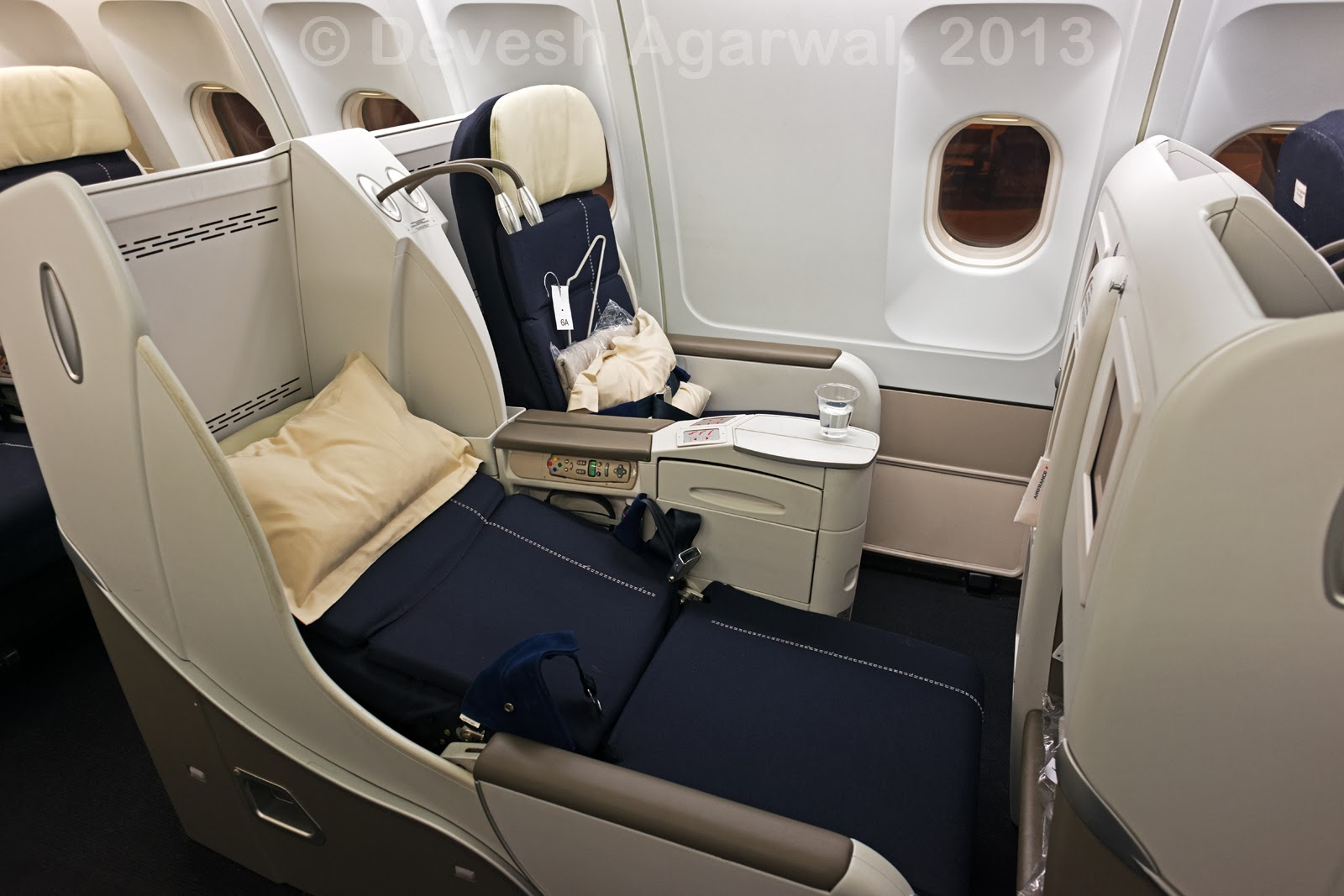 Trip report: Air France A330-200 business class Bangalore ...