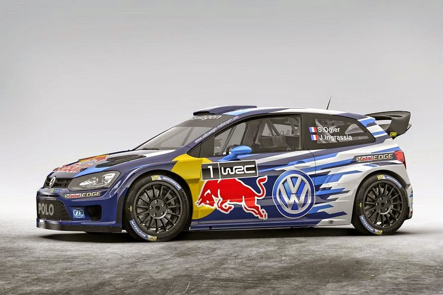 Volkswagen Polo R WRC 2015 Front Side 2