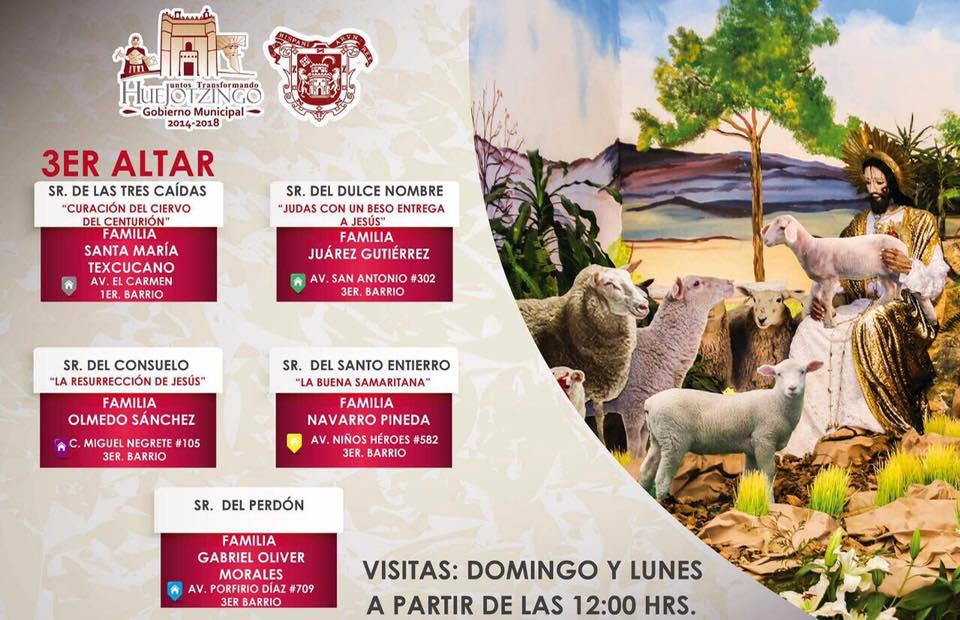 Visite Huejotzingo y sus Altares