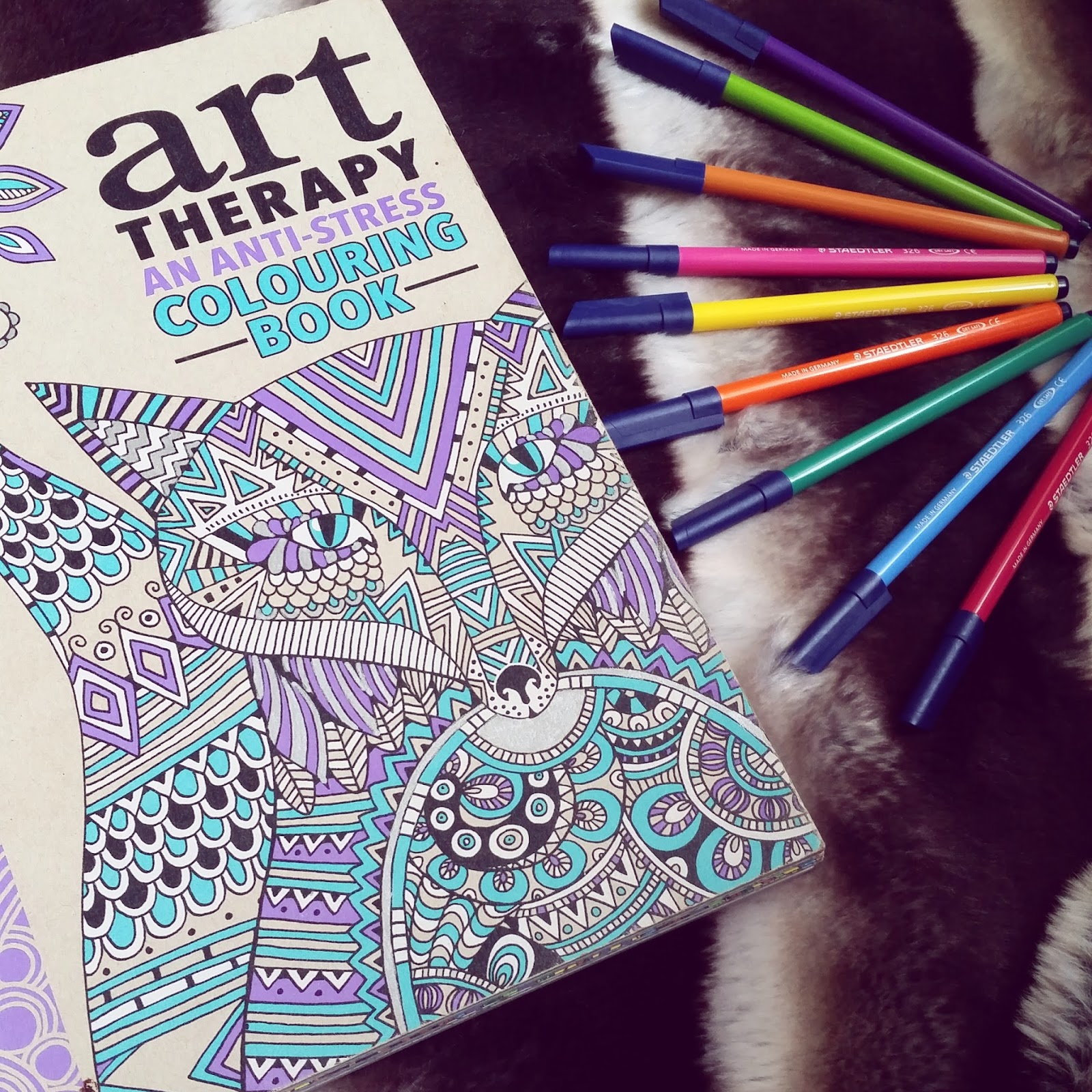 Managing Stress And Depression Adult Colouring Books