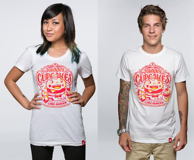"Johnny Cupcakes Limited Edition ""Cakeburger"" T-Shirt"