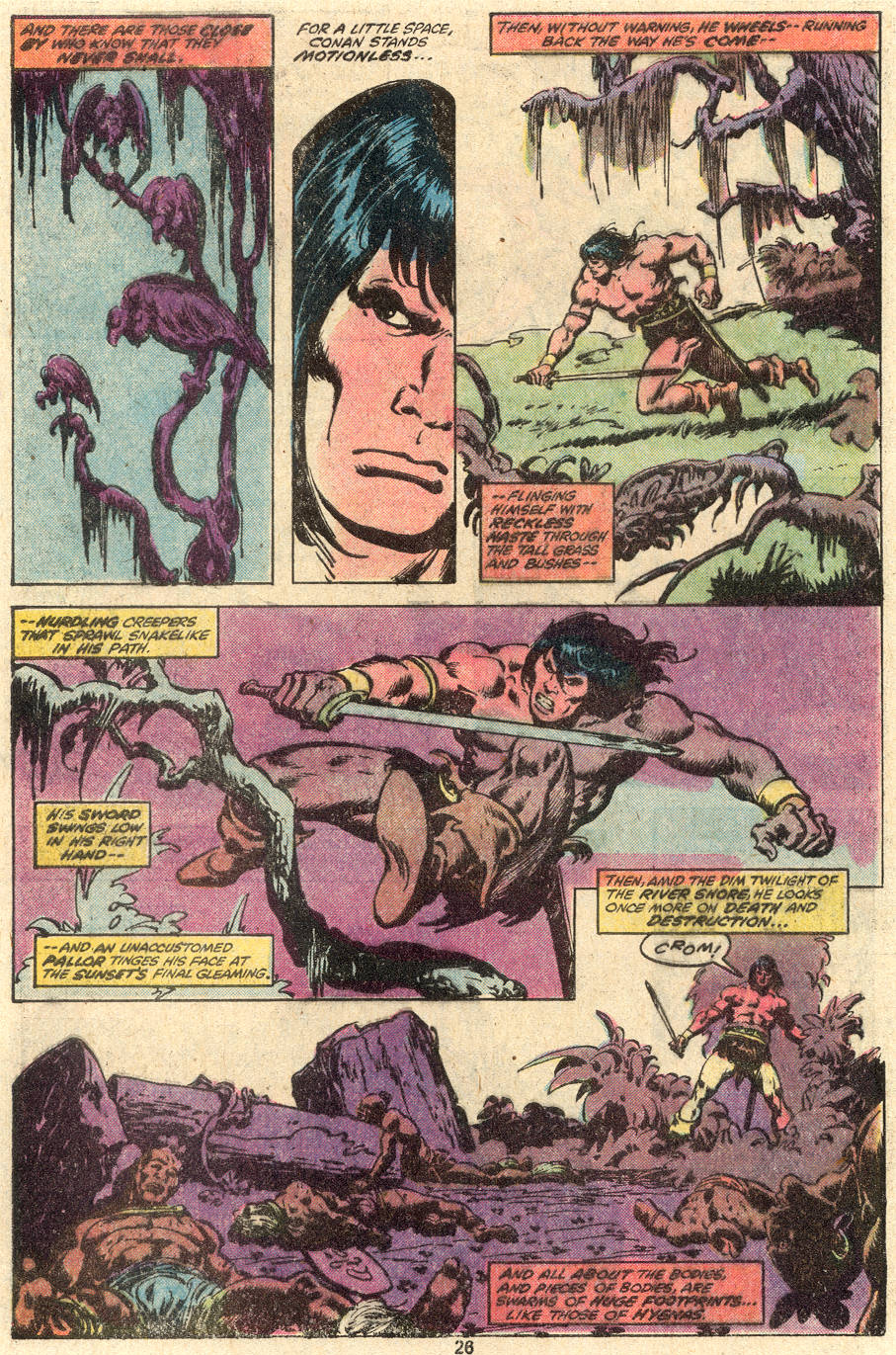 Conan the Barbarian (1970) Issue #100 #112 - English 21