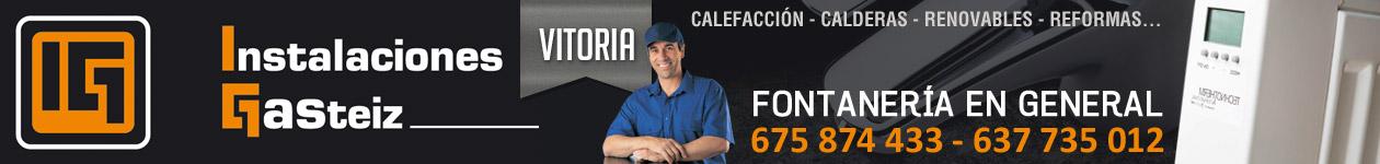 Instalaciones Gasteiz - 675 874 433 - Fontaneros Vitoria