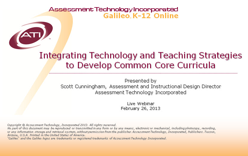 Ati Town Hall Blog Integrating Technology And Teaching Strategies